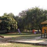 children's play area at rose garden