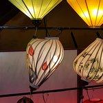 Lanterns in the Restaurant