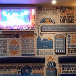 Bar Decoration and Stage View Television