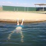 Losing my head at Burren Junction bore baths