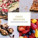 Le nouveau bar du Casino Croisette vous propose une nouvelle carte snacking !