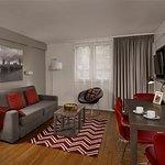 2-Bedroom Apartment - Living Room