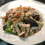 Quinoa and Feta Salad with Grilled Chicken