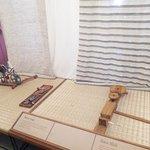 Ancient cloth making looms