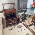 Mini work shop of manual weaving