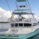 Our 57' USCG Licensed and Inspected Spellbound for up to 23 People