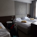 Great triple room. Very spacious.