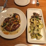 Grilled Spanish Octopus and Grilled Artichokes