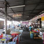 Chinese Food stalls opposite