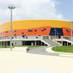 Exterior view of the Velodrome