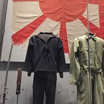 Japanese officer uniform and sword