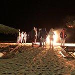 Beach Bonfire outside Angulo's