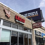 The front of Eagle's Deli