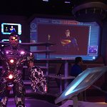 new 3D Metropolis ride indoor line area