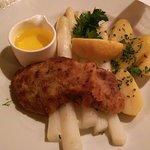 Wiener Schnitzel and Asparagus