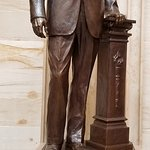 William E. Lewis Jr. of Fort Lauderdale, Florida, visiting the U.S. Capitol in Washington D.C.