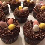 Scrummy chocolate Easter cakes