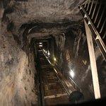 Trummelbach Falls lift shaft
