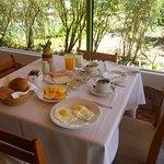 Desayuno en el Hotel El Abuelo