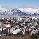 View of Reykjavik to the Northeast