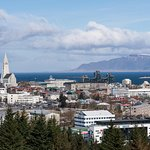 View of Reykjavik to the Northwest