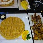 Waffles / Sausage / Potatoes