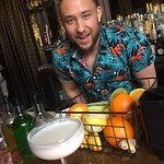 Joe's bringing on the Tiki drinks!