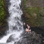 Beautiful private waterfall swim
