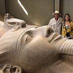 Rameses II Statue in Menphis