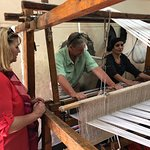 Weaving at the Assn for the Protection of the Environment