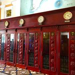 phone booths inside post office