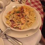 Tuscan chicken and shrimp