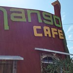 Mango Cafe has a nice, visible corner location.