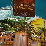 Mango Cafe offers self-serve coffee