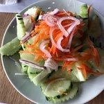 side cucumber salad