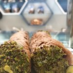 The best and fresh Cannolo Siciliano ever.