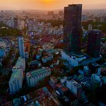 sunset scene from Bitexco Tower