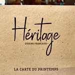 Hértiage - La carte du Printemps