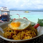 Nasi Goreng with the best view in the house