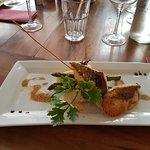 Filet de St-Pierre avec sauce à la truffe