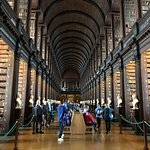 Old library at Dublin. Great visit