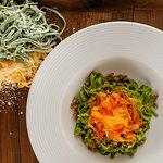 Spinach Tagliatelle with Duck Ragu