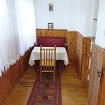 The interior of Baba Vanga's house.