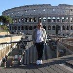 The Colosseo from Via degli Annibaldi