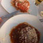 Pollo Parmigiana and Nonna's Lasagna