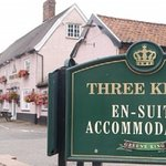we have accommodation, good food and always five real ales on tap