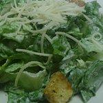 Caesar salad with crisp lettuce