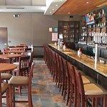 The bar at Lazlo's Brewery & Grill - Omaha.