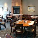 Private dining space is available at Lazlo's Brewery & Grill by reservation.