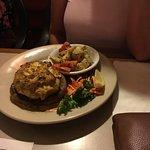 The jumbo crab cake